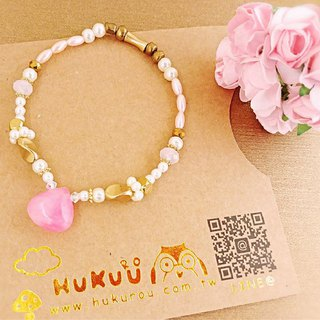 HUKUROU Rose Water Drop Elastic Bracelet