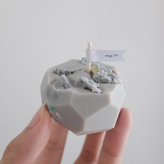 Cubes | soy wax candle handmade soy candle #m