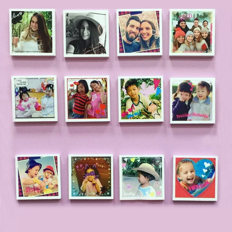 Set of 12 pcs Magnetic Photo Card-personalize gifts-Graduation-mother