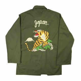 Tsubasa.Y Ancient House A07 vintage embroidered military shirt, shirt embroidered military uniform