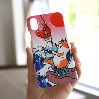 iPhone case cat to fish