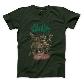 Age of Steam green revolution - Forest Green - Unisex T-Shirt