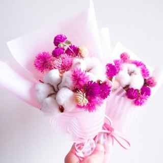 [French elegance (striped powder/powder)-small bouquets] Dry flowers Mother's Day bouquets Valentine's day bouquets Graduation bouquets Wedding Small things Weddings Divide Bridesmaid Ceremony Wedding arrangements Birthday gifts Exploration gifts O