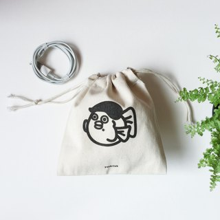 Beet small canvas thick pockets pocket change bag