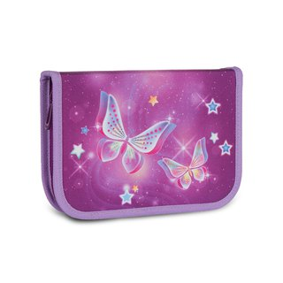 Tiger Family Aristocratic Multifunctional Creative Stationery Bag - Starry Butterflies