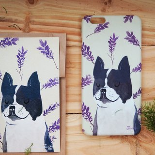 iphone case print high quality with french bull dog