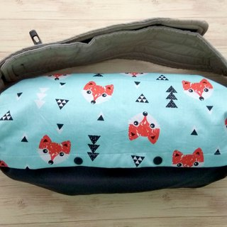 Baby Carrier Bag, Storage for Ergo baby, Lillebaby, Ergo 360, Fox Faces, Blue