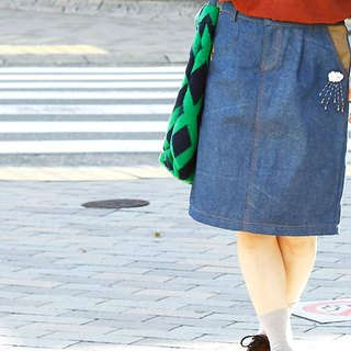 Sora Moyou Denim skirt