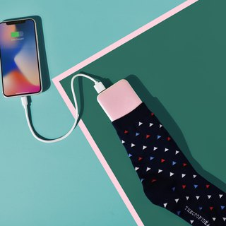 Thecoopidea -  HAIRY 6000mAh Powerbank with socks