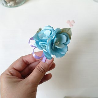 Corsages - Groomsmen Bridesmaid Flower boutonniere corsages weddings (BT025)