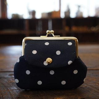 Collecting old time - ochre canvas little pocket bag