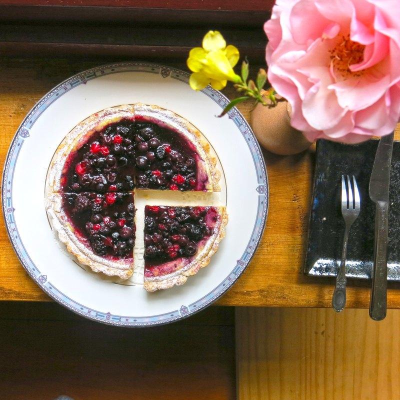 愛吃魚的狗*森林野莓乳酪甜派