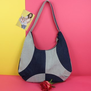 Love of Variety Denim Shoulder Bag