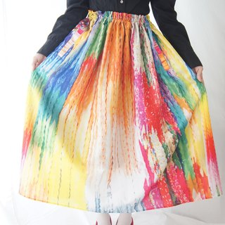 千羽鶴プリントスカート / A thousand paper cranes print skirt