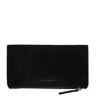 FEEL THE NIGHT Clutch_Black/Black