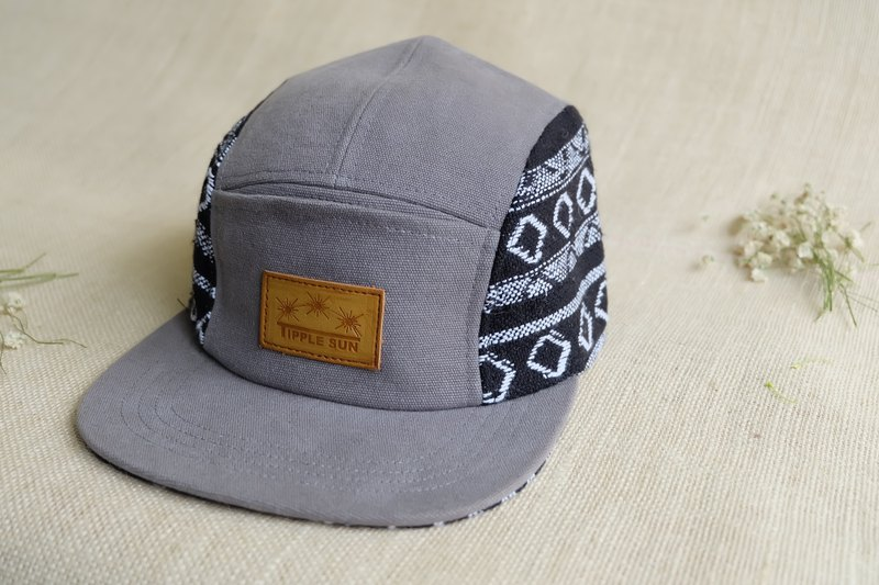 หมวก Tipple Sun Cap (Gray/Traditional fabric Back)
