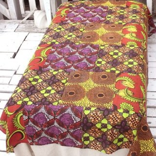 Pre-ordered African totem cloth