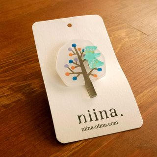 A fruit tree brooch S [01]