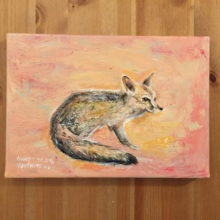 Original painting - warm fox