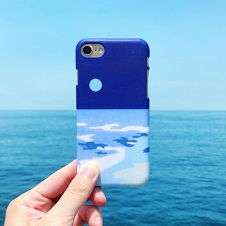 Beach night tour(blue moon)-phone case iphone samsung sony htc zenfone oppo LG