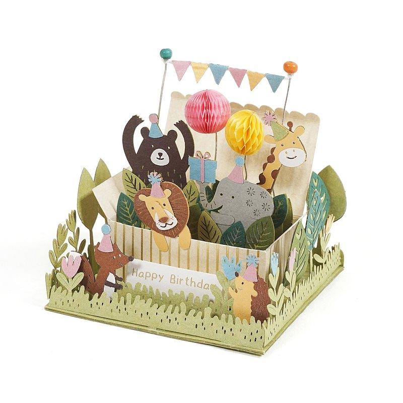 [Jeantopia] Friends selection Good time DIY material kit Animal birthday party | 9026618
