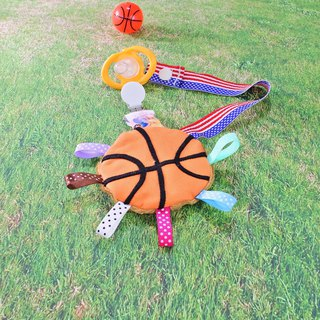 Basketball comforter pacifier chain clip pacifier chain clip