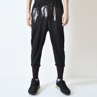 AFTER - Serrated Cotton Trousers