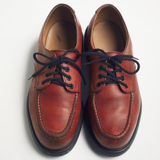 80s Redwing Low Work Shoes Redwing Moc Toe Supersole US 8D Eur 4142