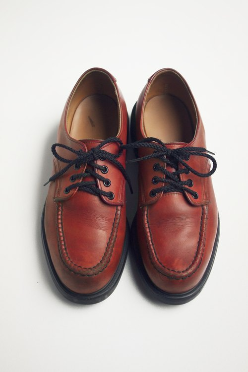 80s Redwing lower cylinder work shoes | Redwing Moc Toe Supersole US 8D Eur 4142