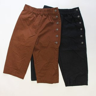And - Stone Trail - Side Drawstring Elastic Low-rise Pants
