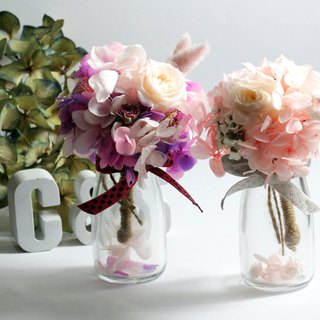 Mini bouquet / ornaments / not withered flowers