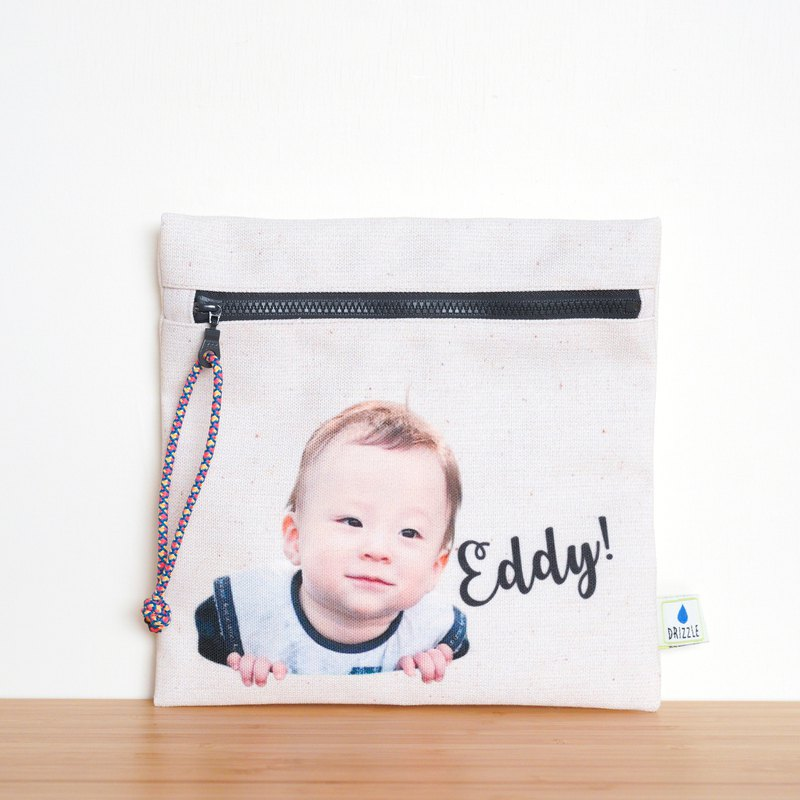 Customized handmade children's parent-child flat bag storage bag