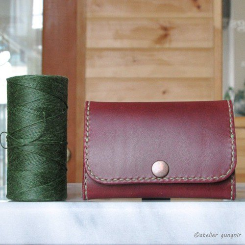 Wide open coin case B No.11 Butero