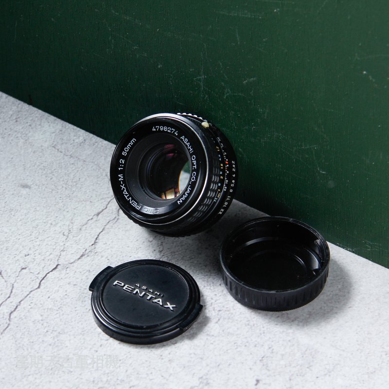 PENTAX-M 50mm F2.0 original manual lens P / K mount portrait large aperture bokeh