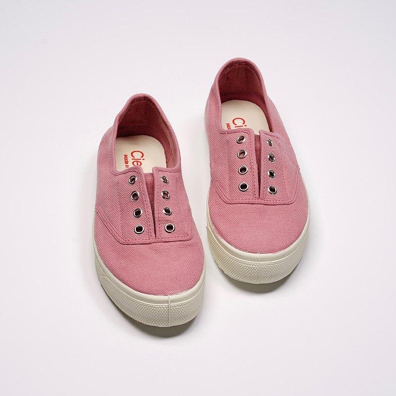 西班牙國民帆布鞋 CIENTA 10997 52 粉紅色 經典布料 大人