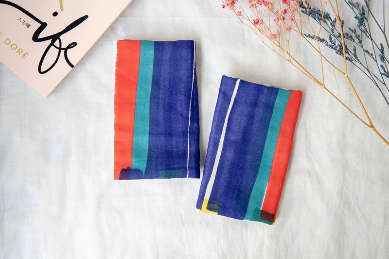 (spot) sling saliva towel | strap with saliva towel | Japan six heavy yarn | irregular tape