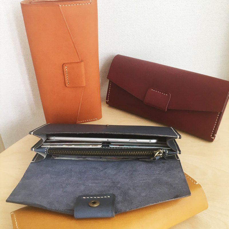 GENUINE LEATHER LONG WALLET FOR WOMEN - A28