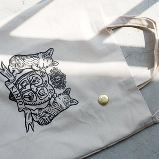 Eden Foundation X KINJO Caoshan Metalworking [Keki Canvas Bag]