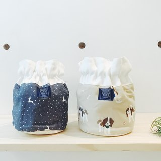 :: :: Bangs tree dorsal bucket bag _ elk and puppies