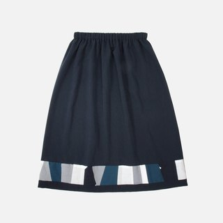 [re remade] stitching skirt