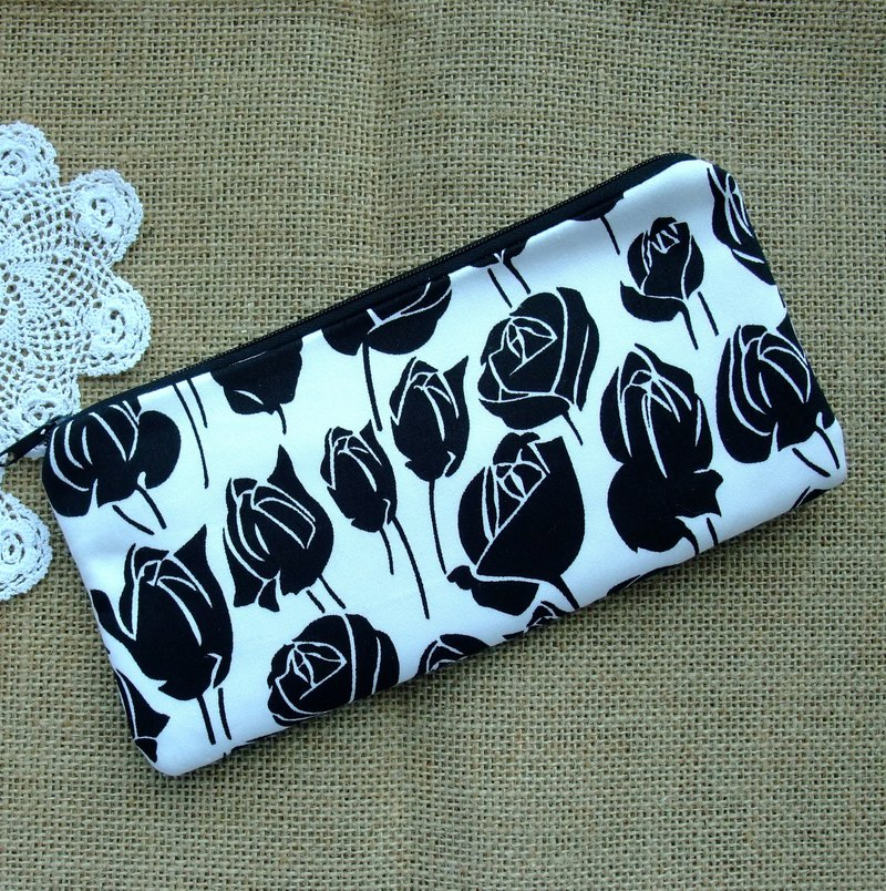 Large Zipper Pouch, Pencil Pouch, Gadget Bag, Cosmetic Bag (ZL-128)