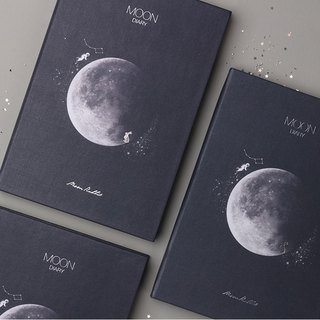 Dash and Dot Moon diary Moon Perpetual Calendar Zhou Zhi - Late Night Blue Black, DAD14244
