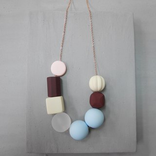 Marshmallow Necklace - PING PONG 008