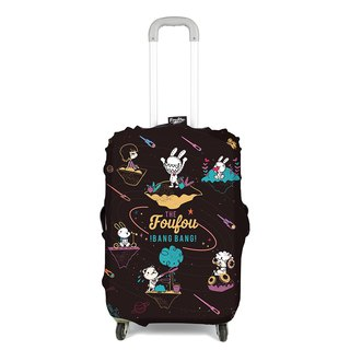 Foufou suitcase cover -12th island universe (M)