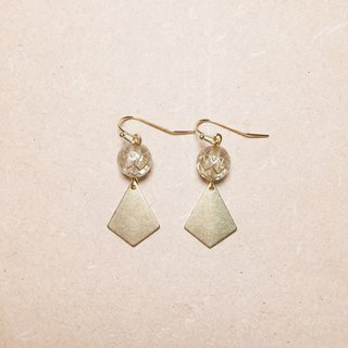 Vintage Arrow Shaped Transparent Totem Earrings