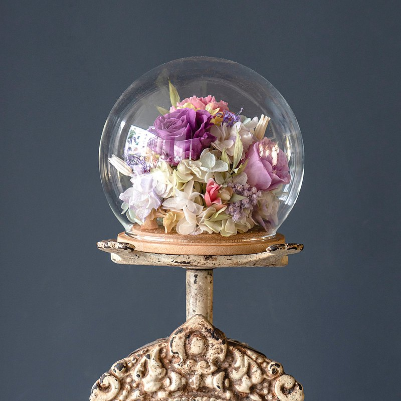【一人成班】珍愛球型玻璃盅 附下午茶