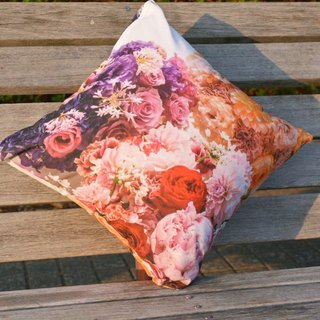 Flower party  Cushion