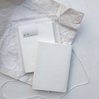 Pure day-A5 all white notebook