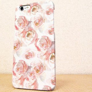 (Free shipping) iPhone case GALAXY case ☆ Water color of roses