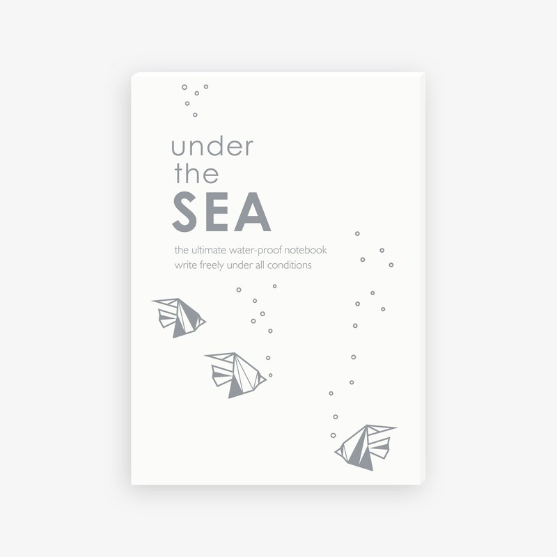 【IWI】SAW note Series notebook-SEA(IWI-NOTE BOOK-SEA)